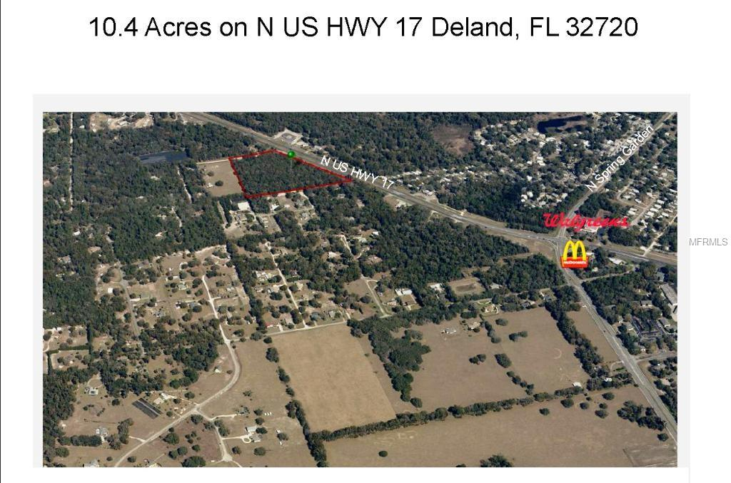 N US HWY 17 Property Photo - DELAND, FL real estate listing