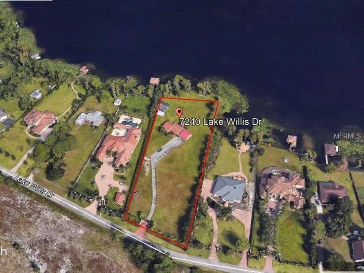7240 LAKE WILLIS DRIVE Property Photo - ORLANDO, FL real estate listing