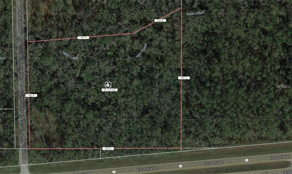 609 S WEST CHRISTMAS RD Property Photo - CHRISTMAS, FL real estate listing