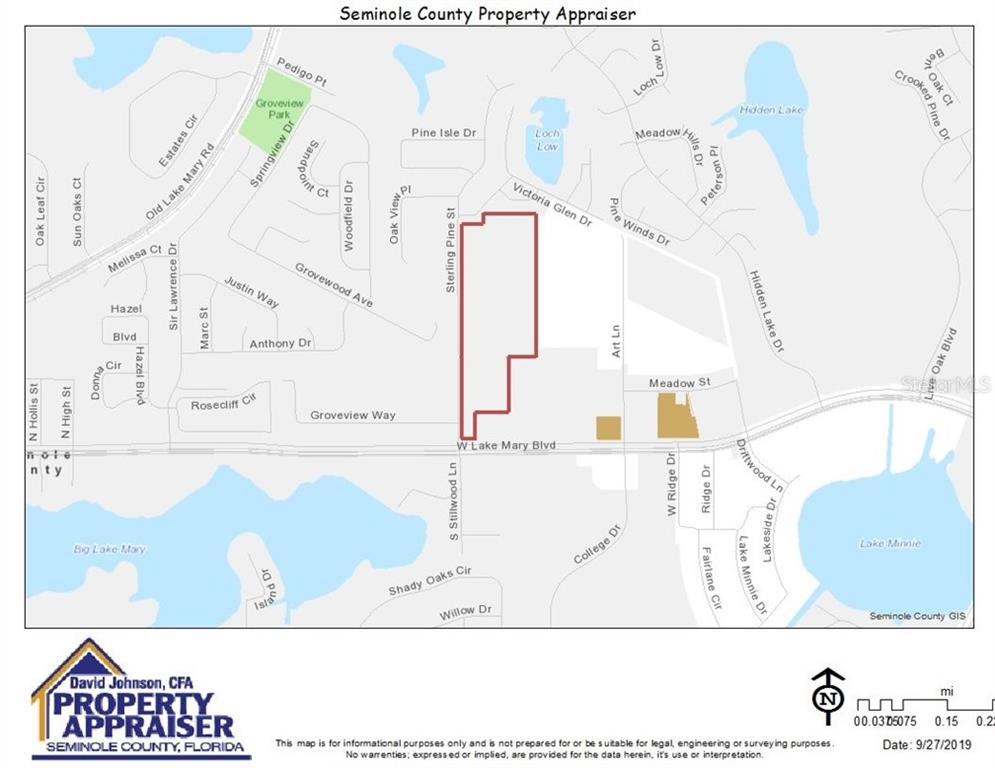 1160 W LAKE MARY BOULEVARD Property Photo - SANFORD, FL real estate listing