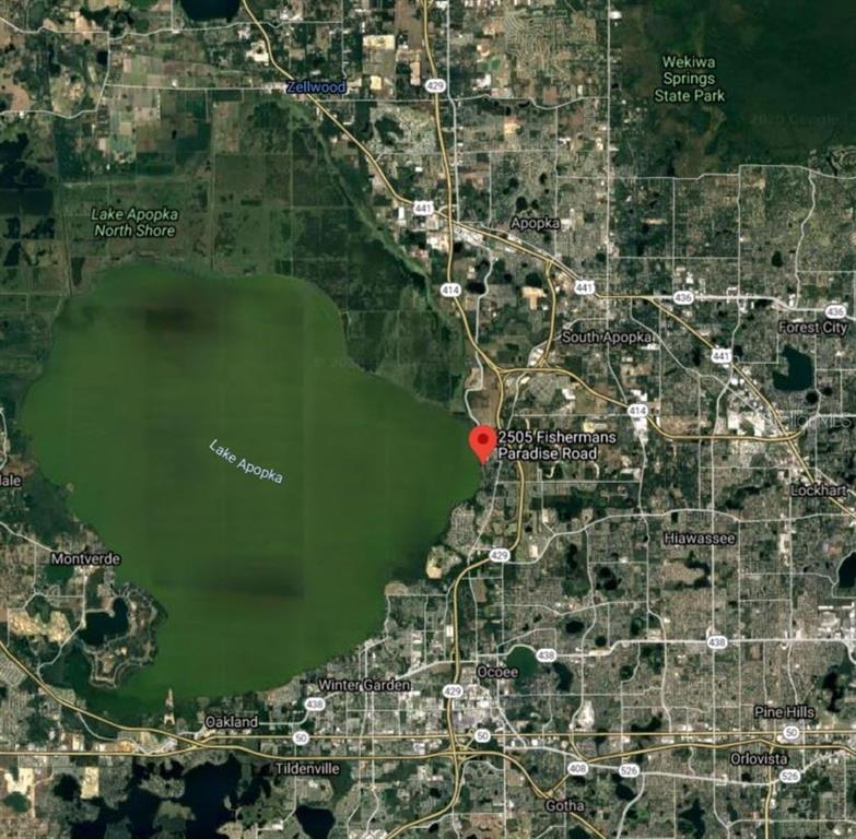 2505 FISHERMANS PARADISE RD Property Photo - APOPKA, FL real estate listing