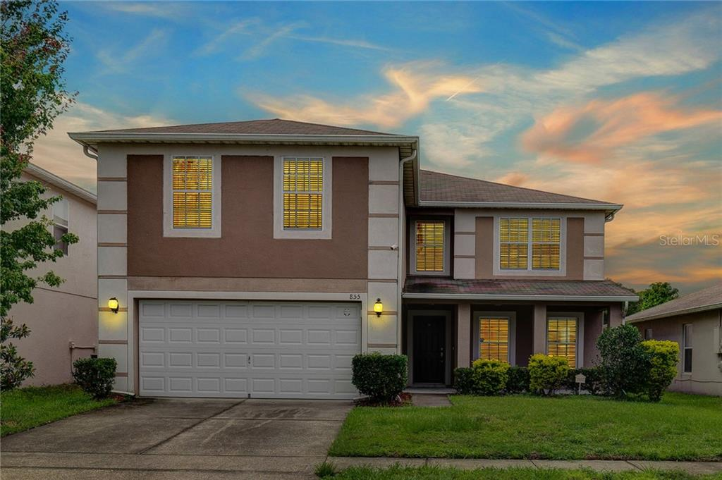 855 FLOWER FIELDS LANE Property Photo - ORLANDO, FL real estate listing