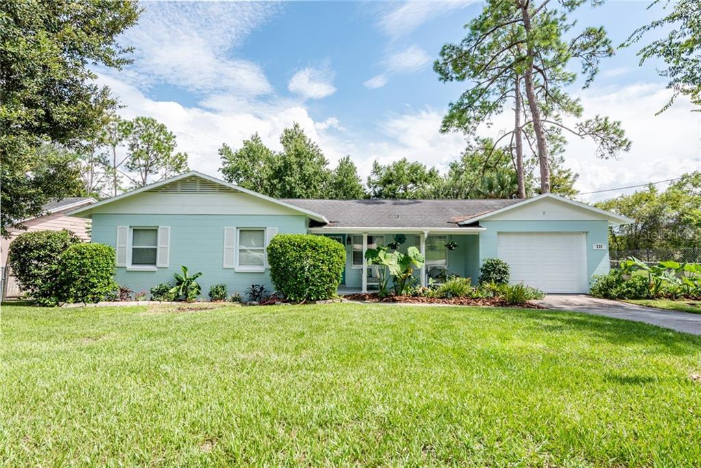 231 LAKEWOOD DRIVE Property Photo - DEBARY, FL real estate listing
