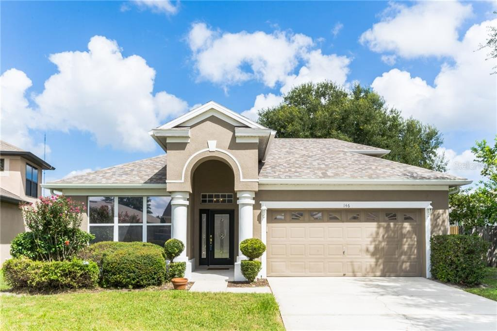 146 BRASSINGTON DRIVE Property Photo - DEBARY, FL real estate listing