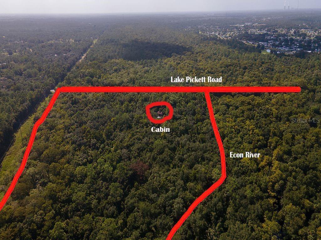 14655 Lake Pickett Road Property Photo