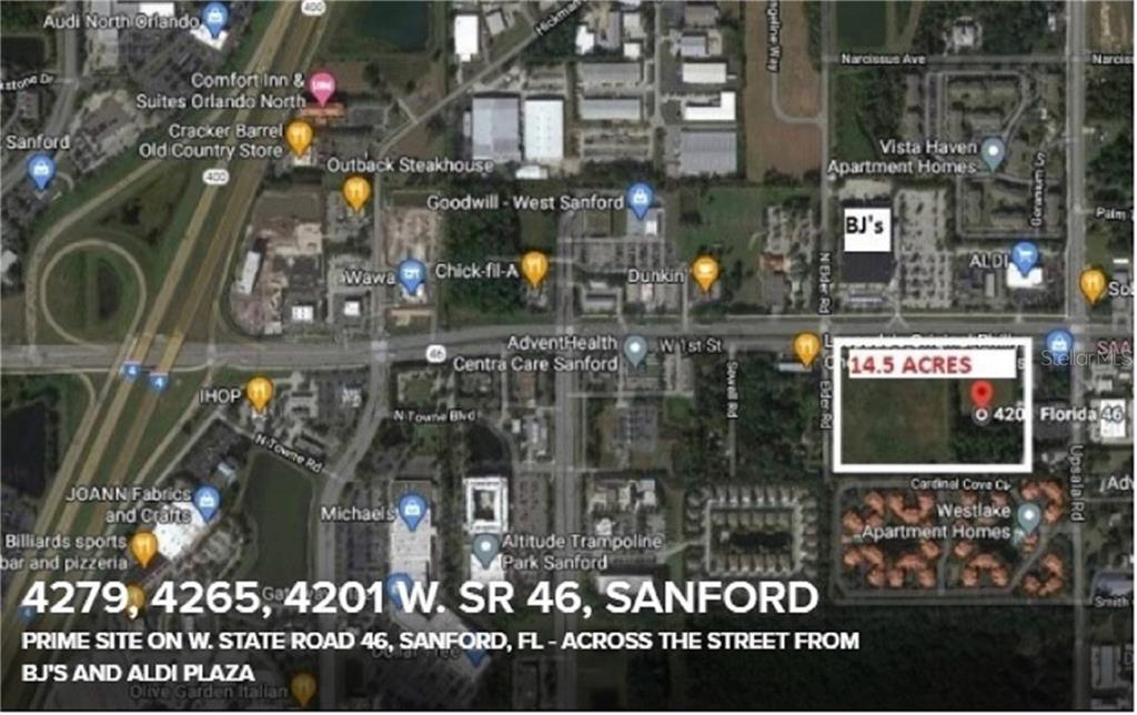 4279,4265,4201 W STATE ROAD 46 Property Photo - SANFORD, FL real estate listing