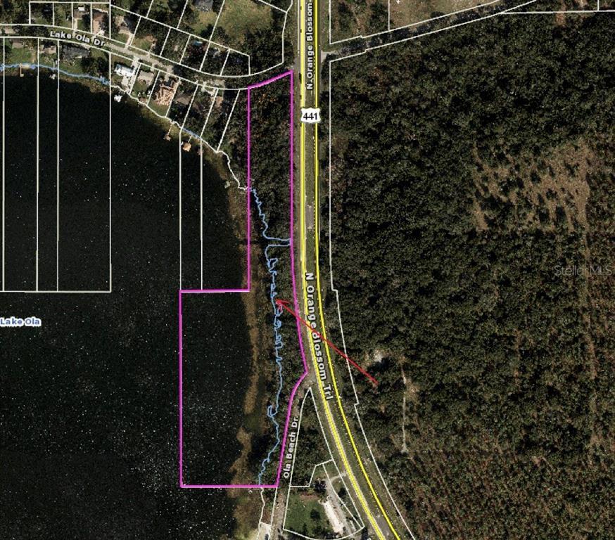 6950 Lake Ola Drive Property Photo