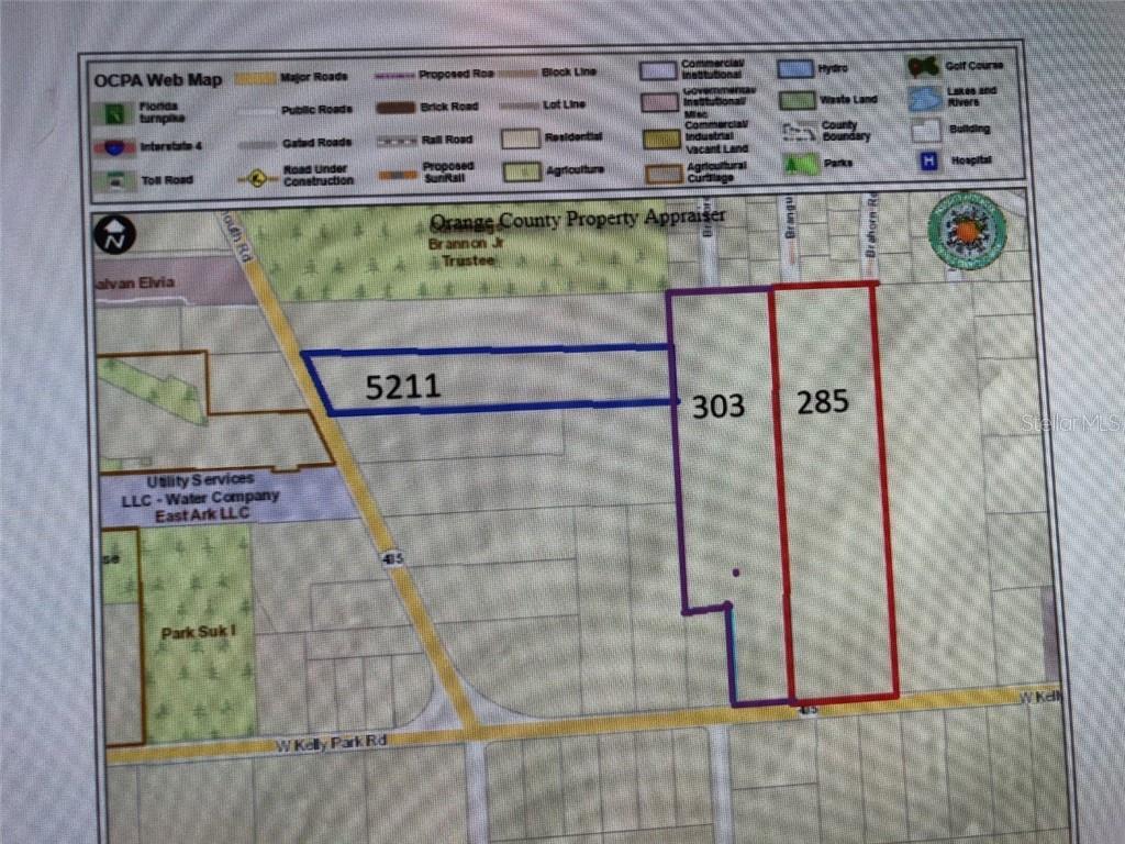 303 W KELLY PARK ROAD Property Photo - APOPKA, FL real estate listing