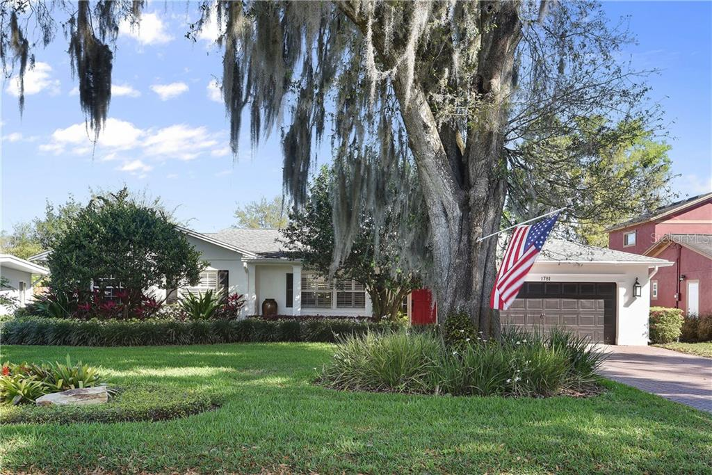 1781 WINDSOR DRIVE Property Photo - WINTER PARK, FL real estate listing