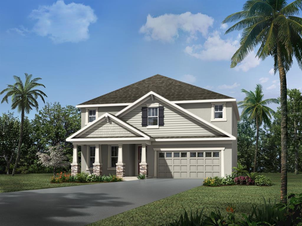 3448 FLORIGOLD GROVE STREET #Lot 242 Property Photo - CLERMONT, FL real estate listing