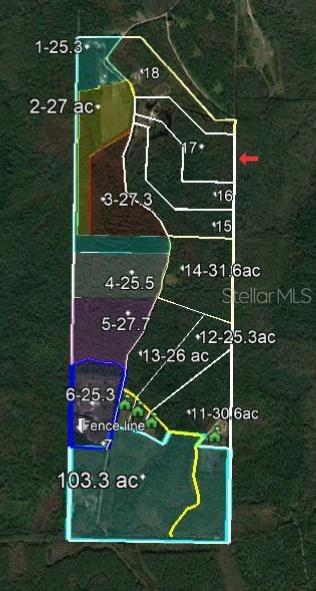 Lot 17 Omega Ranch Road Property Photo