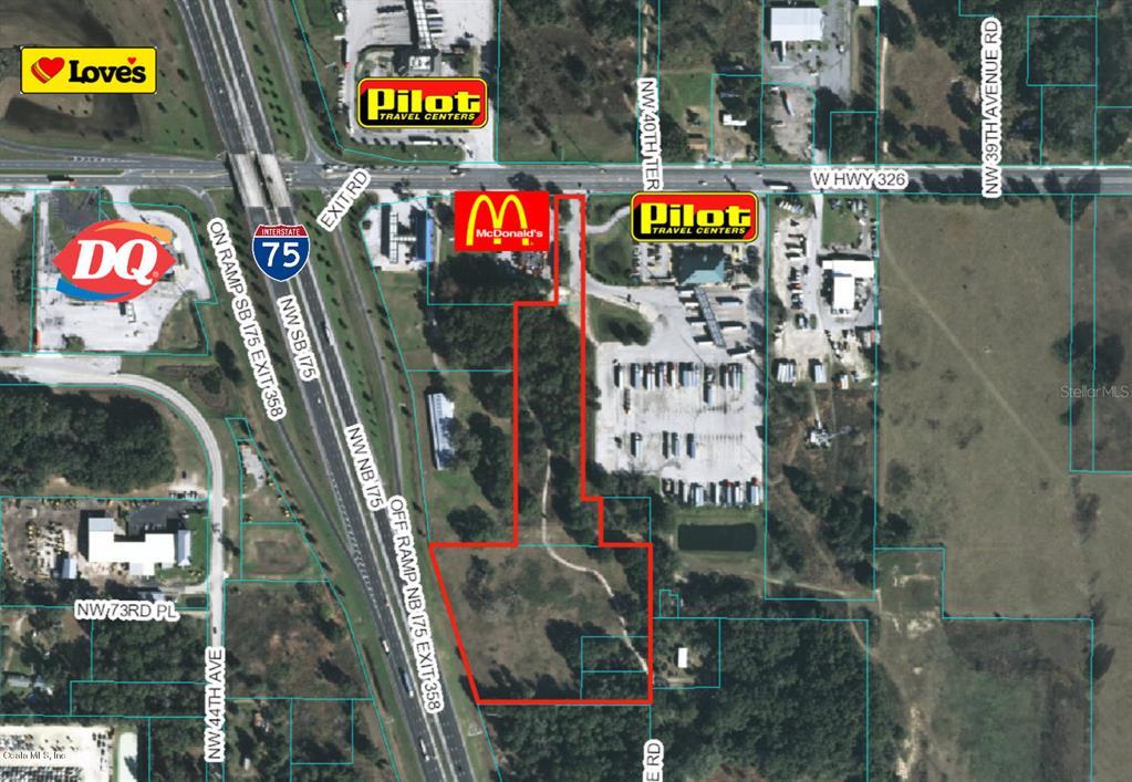 0 W 326 & I-75 HIGHWAY Property Photo - OCALA, FL real estate listing