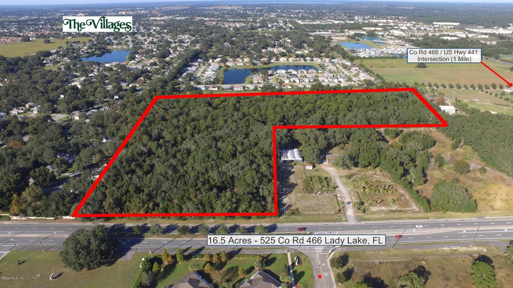 525 County Road 466 Property Photo - LADY LAKE, FL real estate listing