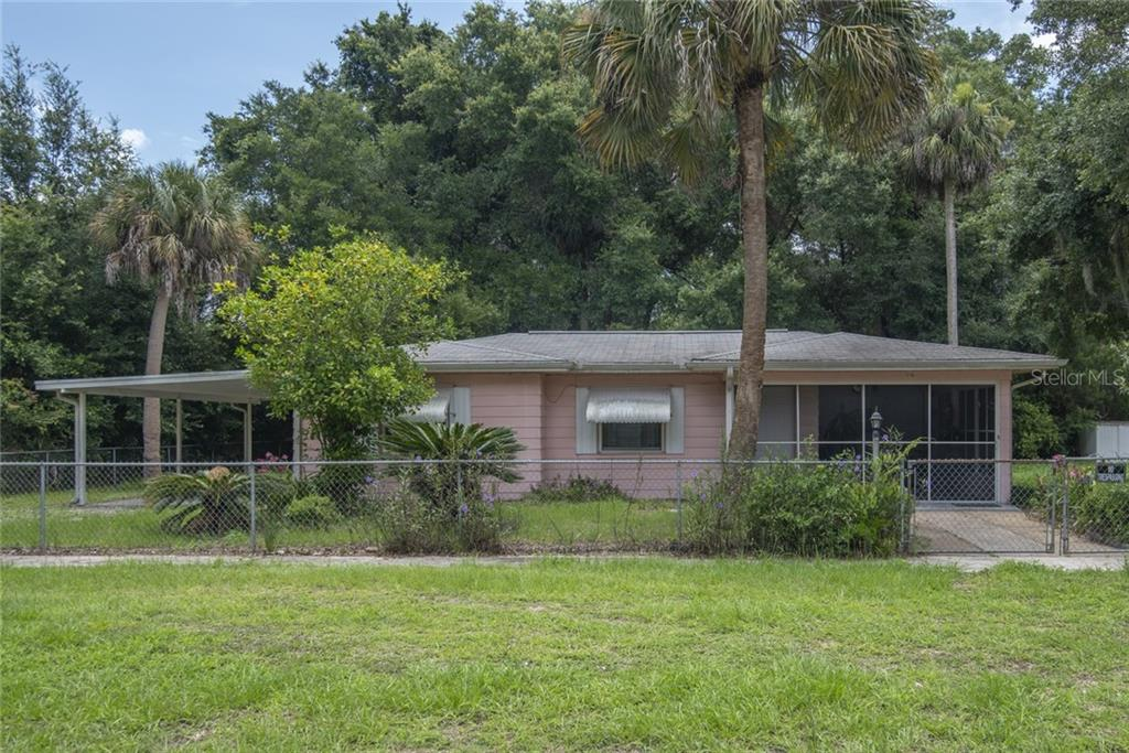 39 RISHER AVE Property Photo - INGLIS, FL real estate listing