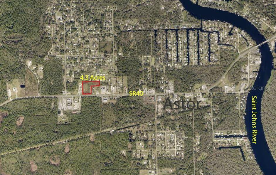 SR 40 HIGHWAY Property Photo - ASTOR, FL real estate listing