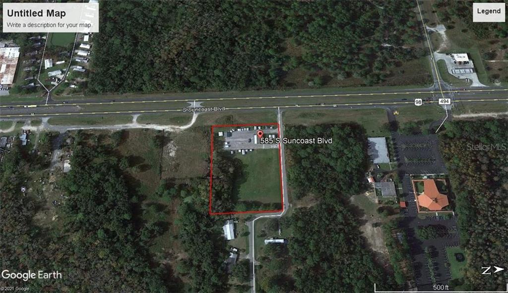 585 S Suncoast Boulevard Property Photo