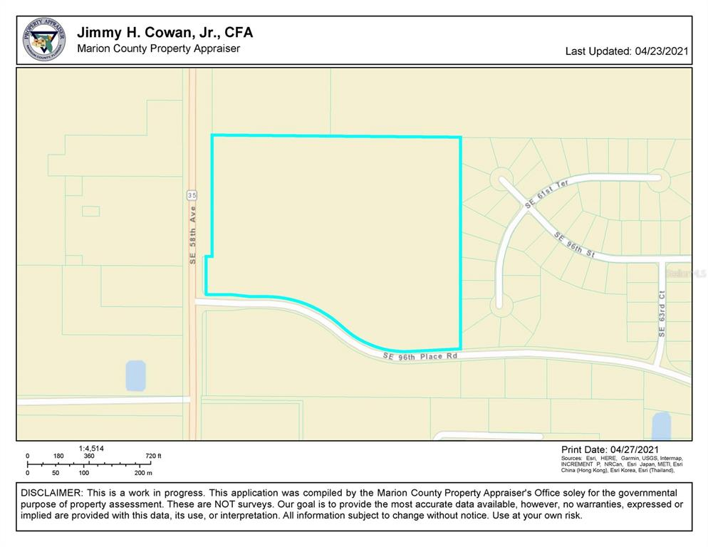 1 ON BASELINE Property Photo - BELLEVIEW, FL real estate listing