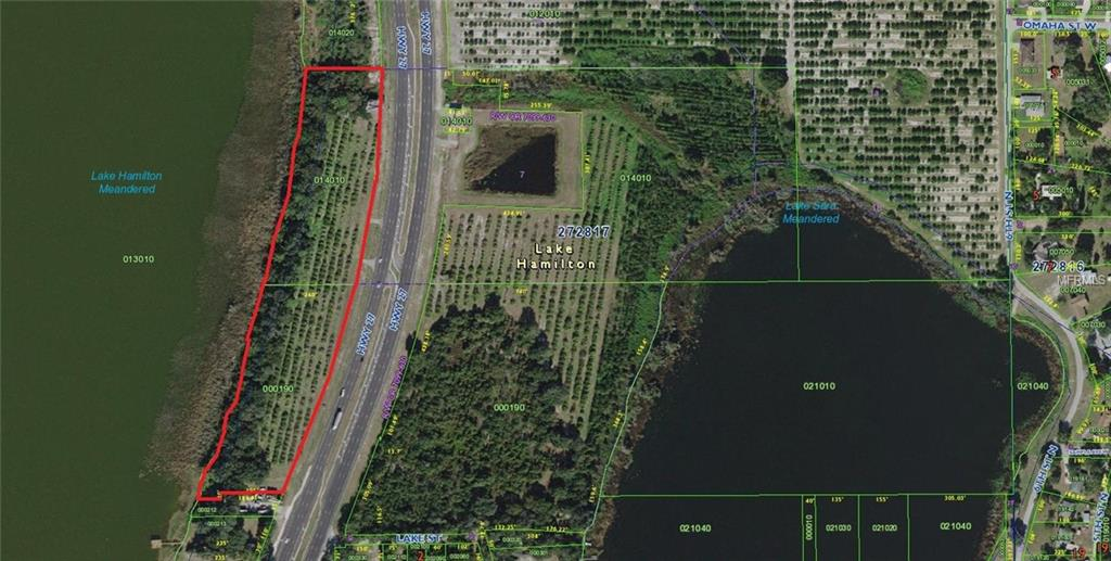 US HWY 27 Property Photo - LAKE HAMILTON, FL real estate listing