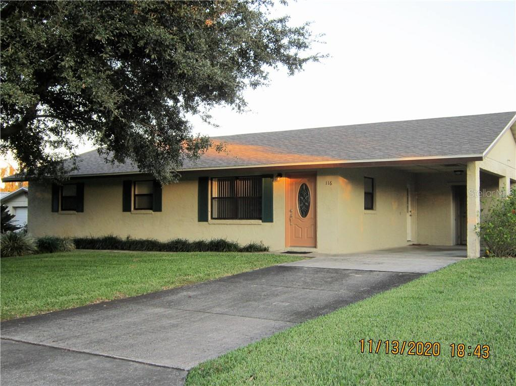 116 N LAKE REEDY BOULEVARD Property Photo - FROSTPROOF, FL real estate listing