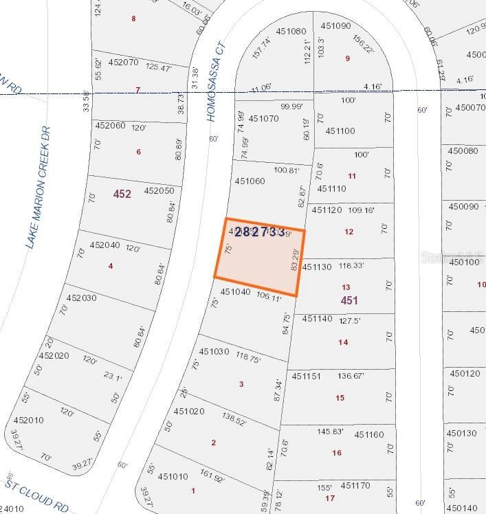 1340 Homosassa Court Property Photo