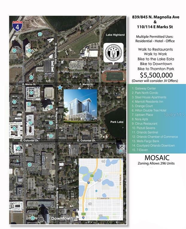 839 N MAGNOLIA AVENUE Property Photo - ORLANDO, FL real estate listing