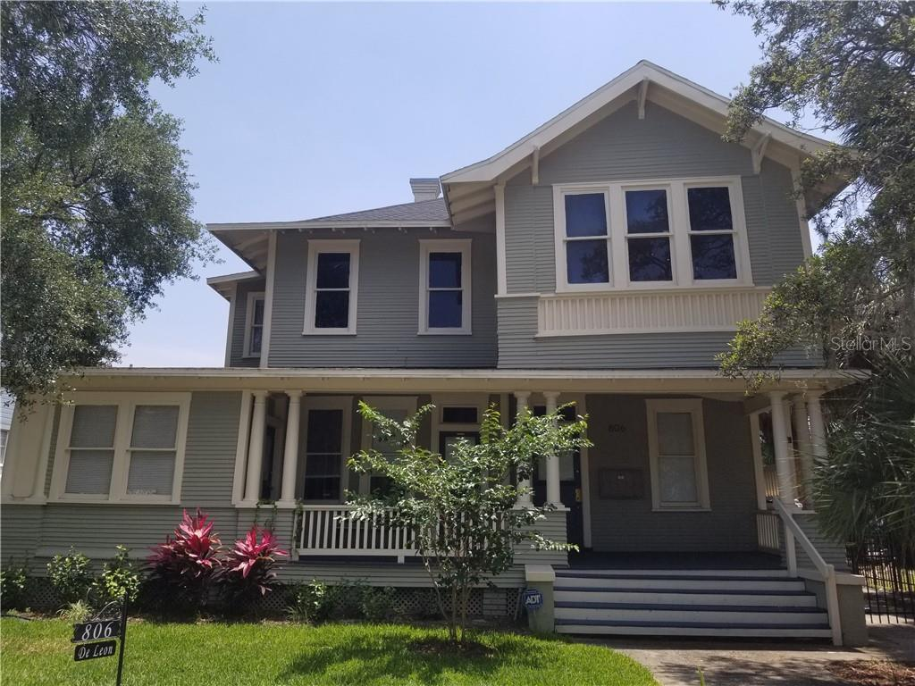 806 W DE LEON ST Property Photo - TAMPA, FL real estate listing
