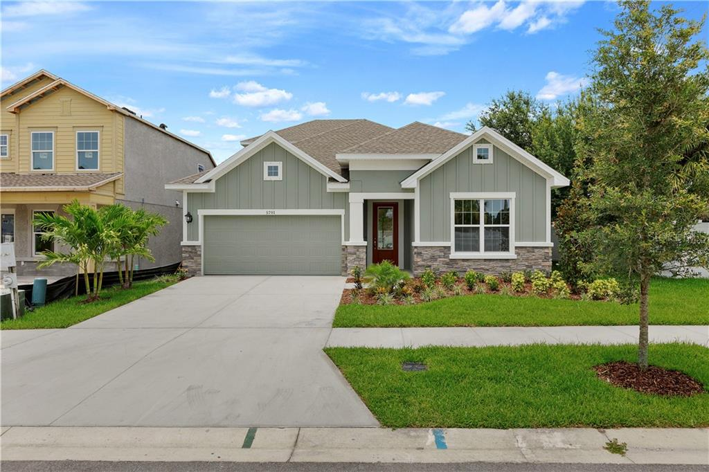 5701 CAMILA SONG LANE Property Photo - TAMPA, FL real estate listing