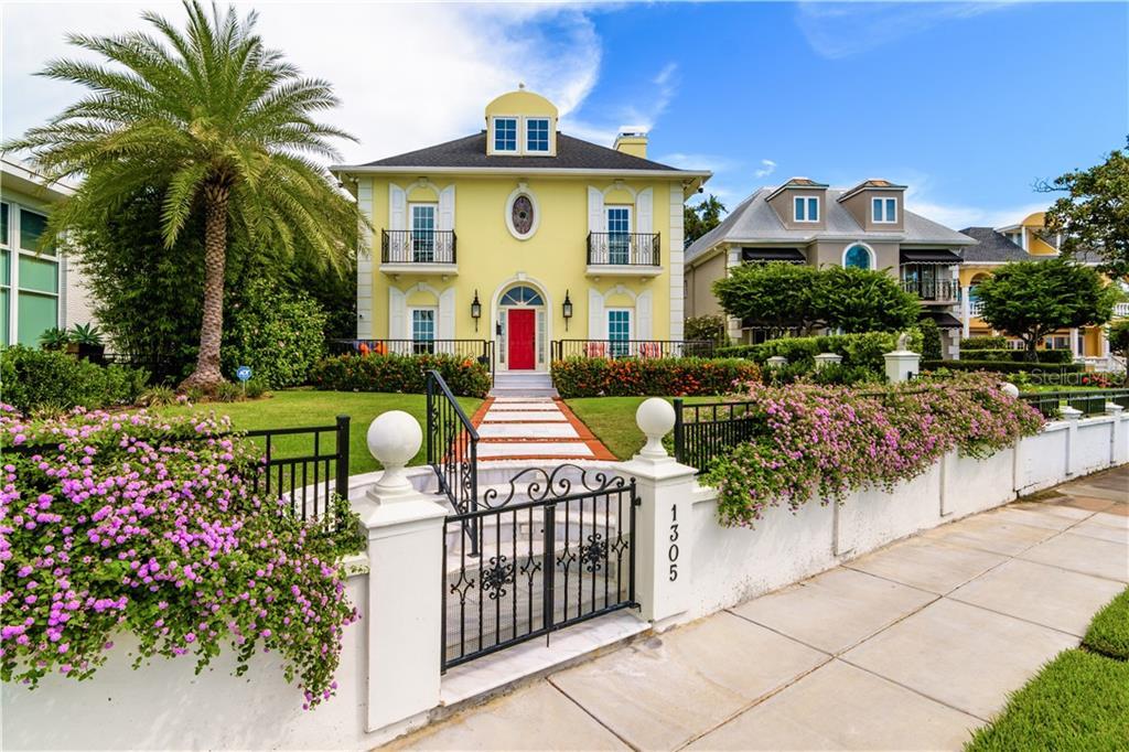 1305 BAYSHORE BOULEVARD Property Photo - TAMPA, FL real estate listing