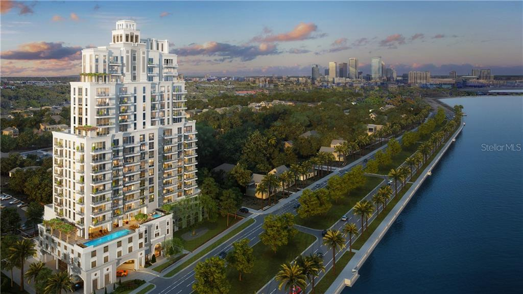 2103 BAYSHORE BOULEVARD #1601 Property Photo - TAMPA, FL real estate listing