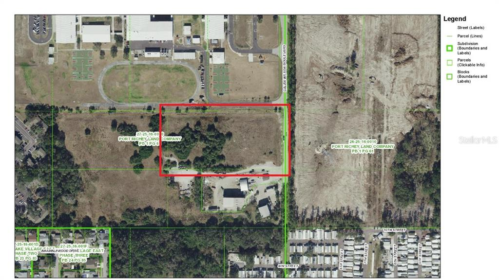 1/4MI S SR587A (GALIN@RIDGE RD) Property Photo - PORT RICHEY, FL real estate listing