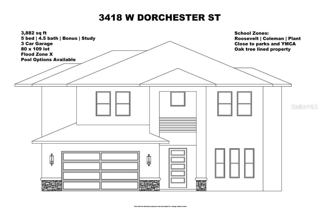 3418 W DORCHESTER STREET Property Photo - TAMPA, FL real estate listing