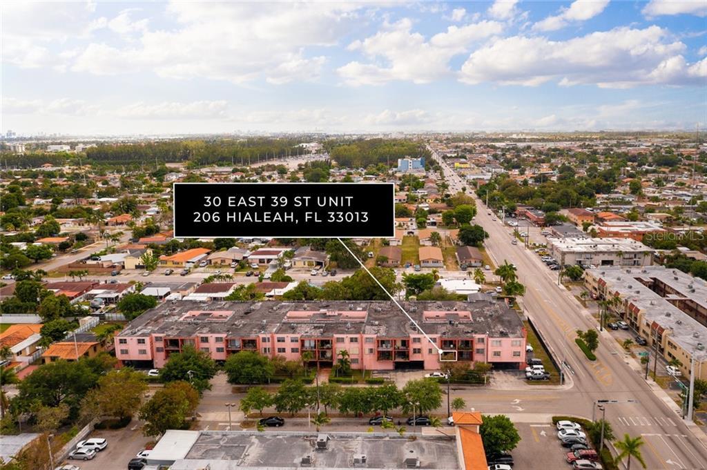 30 E 39TH STREET #206 Property Photo - HIALEAH, FL real estate listing