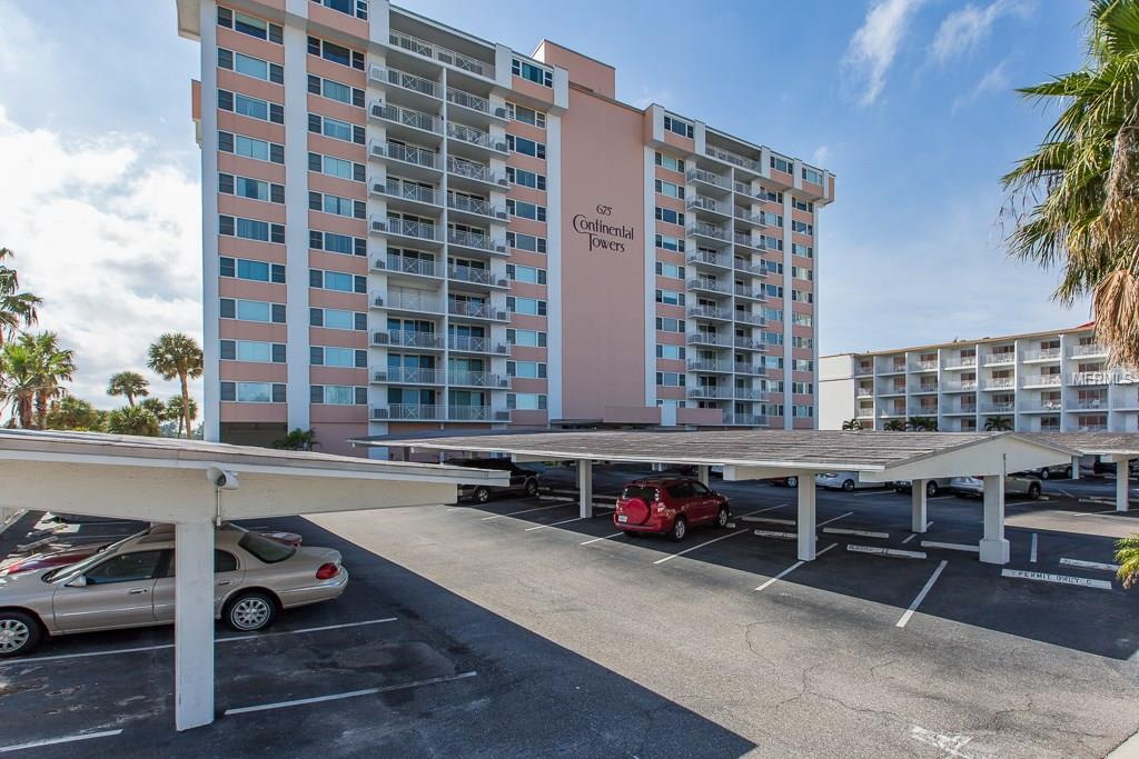 675 S Gulfview Boulevard #1007 Property Photo