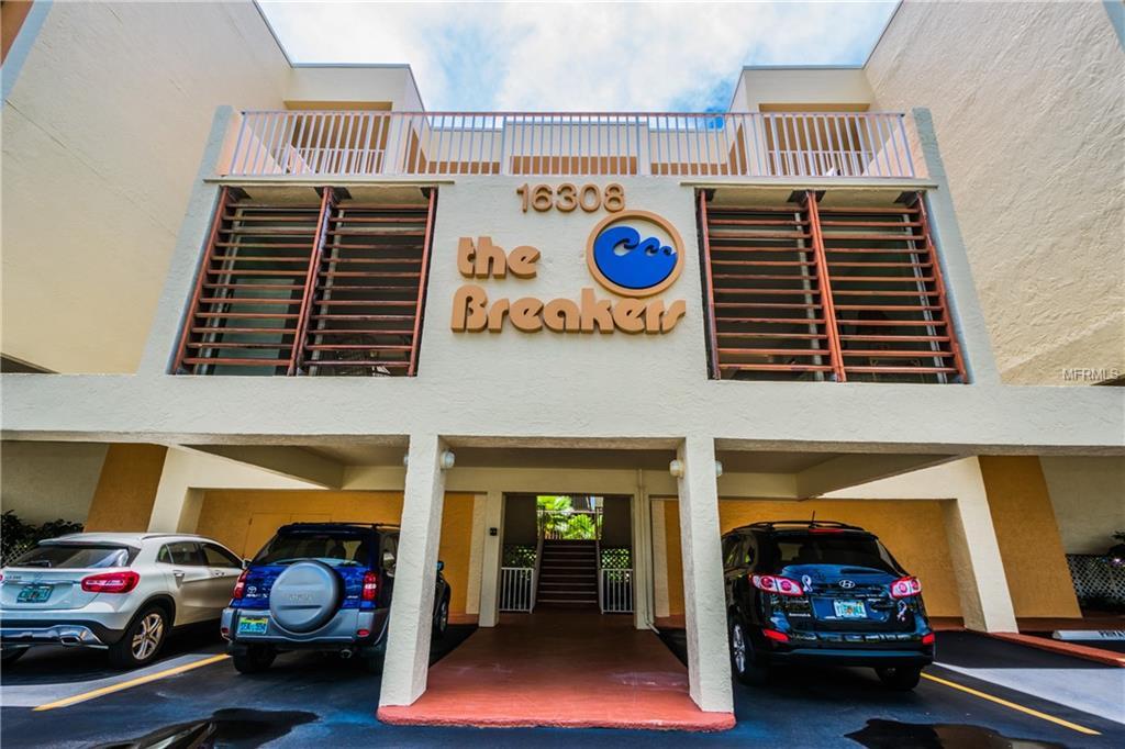 16308 GULF BLVD #304 Property Photo - REDINGTON BEACH, FL real estate listing