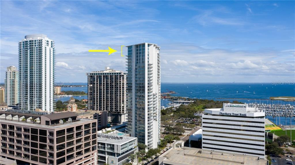 175 1ST ST S #3405 Property Photo - ST PETERSBURG, FL real estate listing