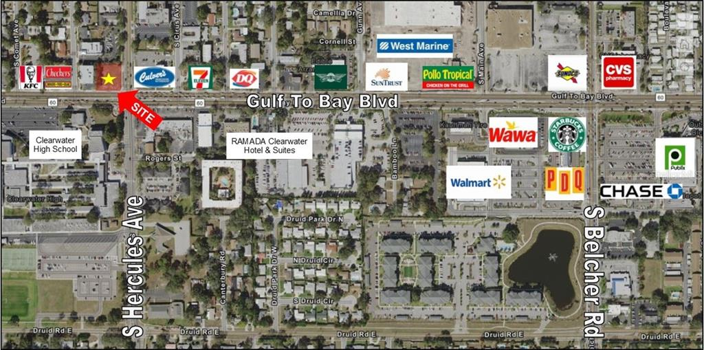 1996 GULF TO BAY BOULEVARD Property Photo - CLEARWATER, FL real estate listing