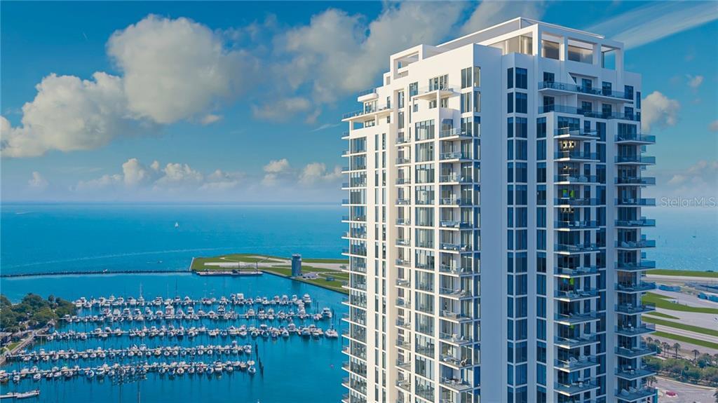 301 1ST STREET S #805 Property Photo - SAINT PETERSBURG, FL real estate listing