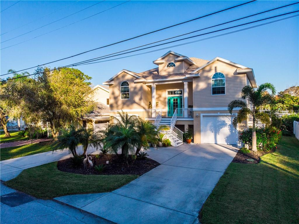 605 BROADUS STREET Property Photo - CRYSTAL BEACH, FL real estate listing