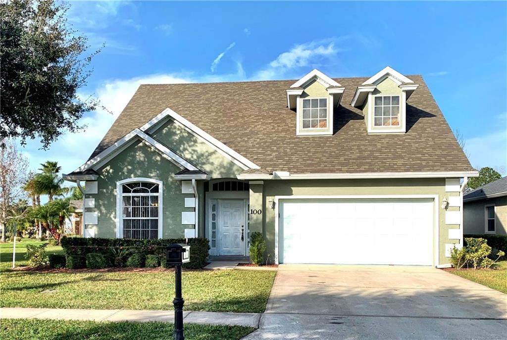 100 OPAL HILL CIRCLE Property Photo - DAYTONA BEACH, FL real estate listing