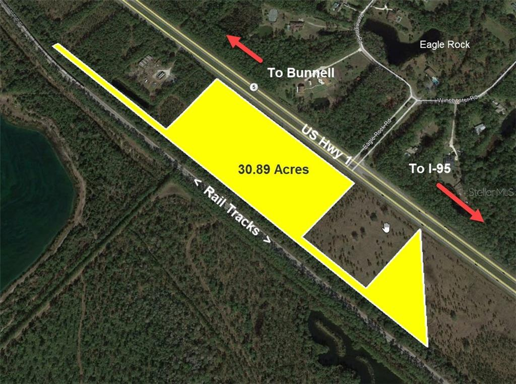 US HWY 1 #(30.89 AC) Property Photo - BUNNELL, FL real estate listing