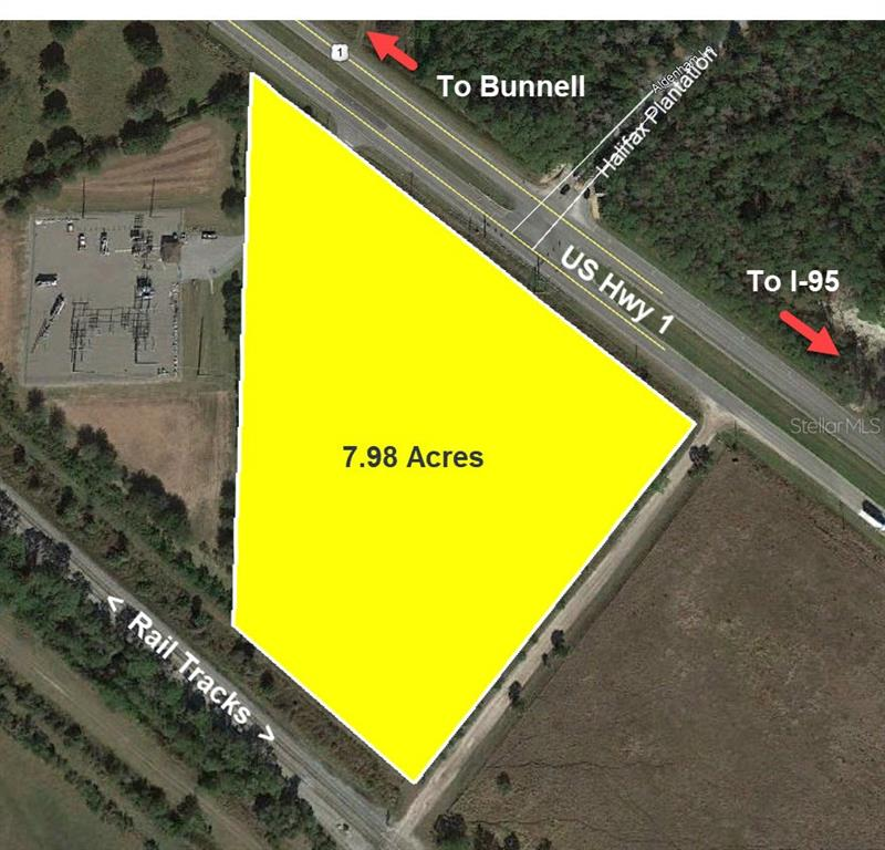 US 1 HIGHWAY #(7.98 AC) Property Photo - BUNNELL, FL real estate listing