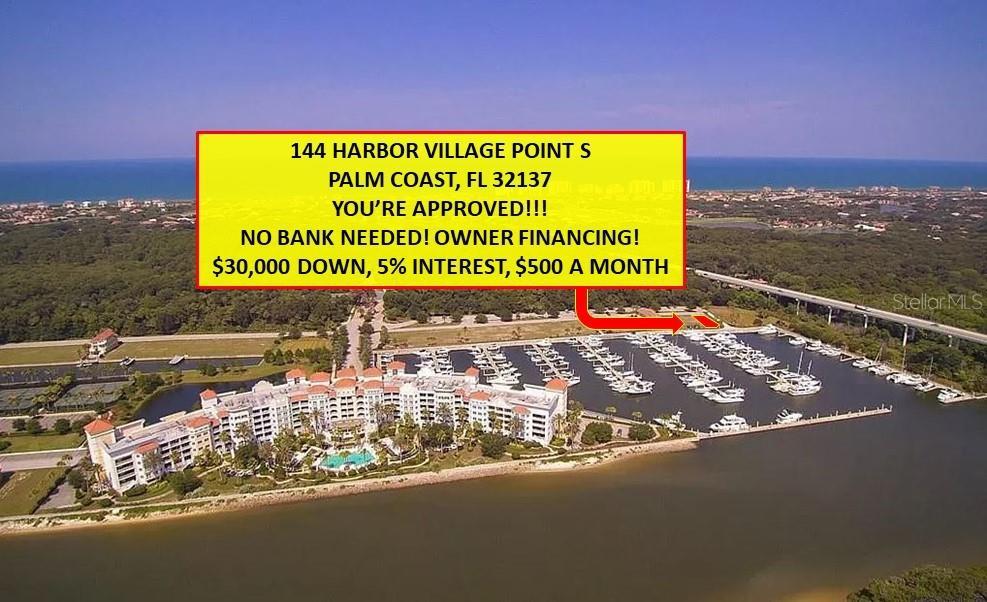 144 HARBOR VILLAGE DRIVE S Property Photo - PALM COAST, FL real estate listing