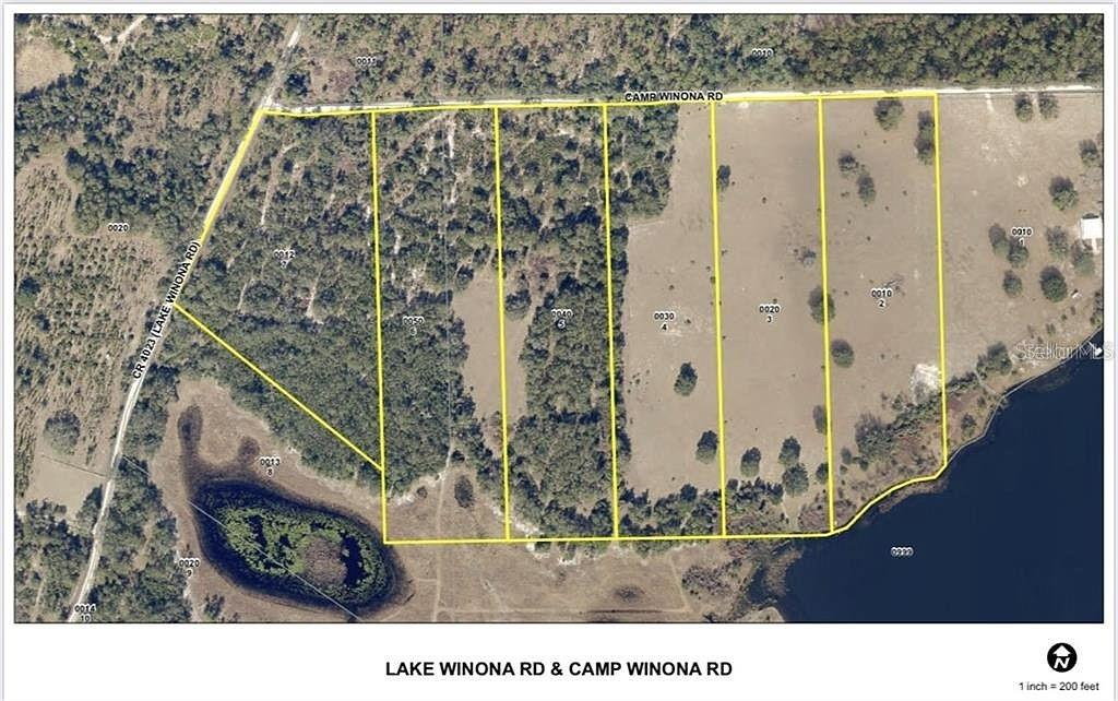 Lot 2 CAMP WINONA ROAD Property Photo - DE LEON SPRINGS, FL real estate listing