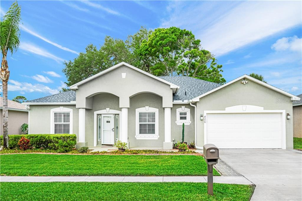 406 CENTRAL MARINERS DRIVE Property Photo - EDGEWATER, FL real estate listing
