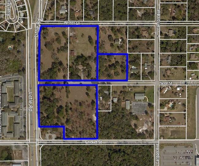 LITTLE RD AND SCOT ST Property Photo - HUDSON, FL real estate listing