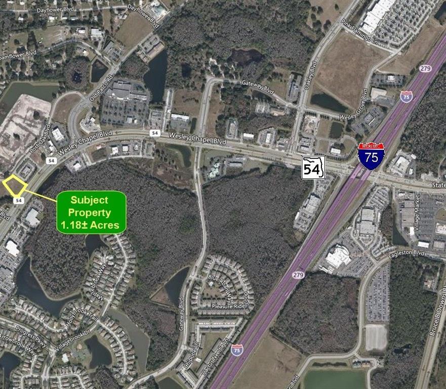 0 WESLEY CHAPEL BLVD & POST OAK BLVD. Property Photo - WESLEY CHAPEL, FL real estate listing
