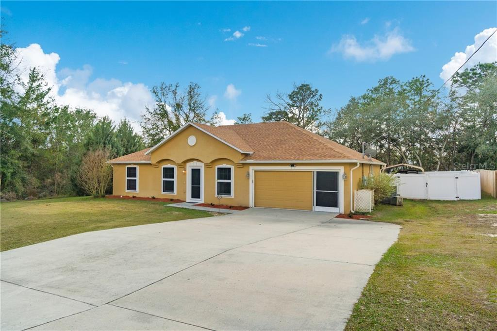 8280 N IBSEN DRIVE Property Photo - CITRUS SPRINGS, FL real estate listing
