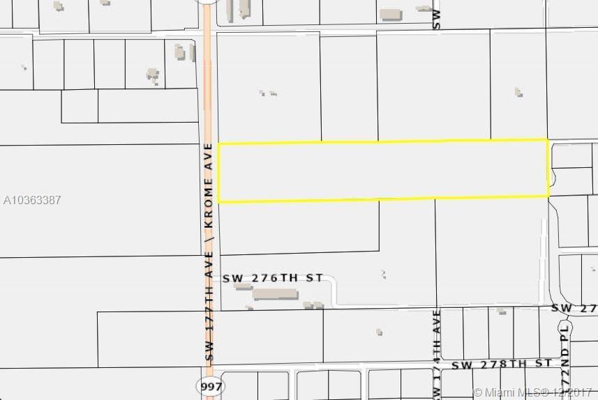 27501 SW KROME AVE Property Photo - Homestead, FL real estate listing