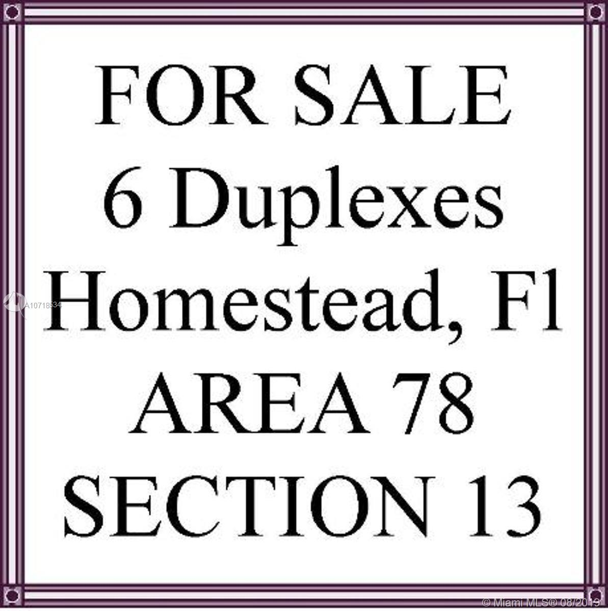 1341 NW 13th St Property Photo - Homestead, FL real estate listing