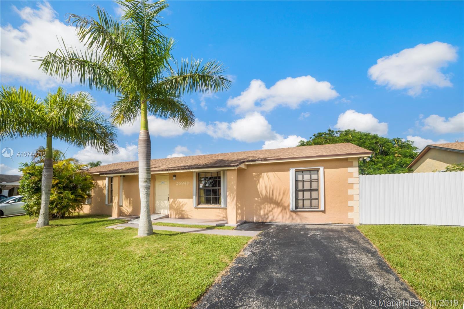 25940 SW 132nd Pl, Homestead, FL 33032 - Homestead, FL real estate listing